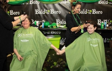 Bald in the Boro participants