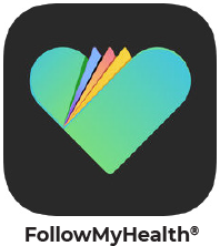 follow my health app icon